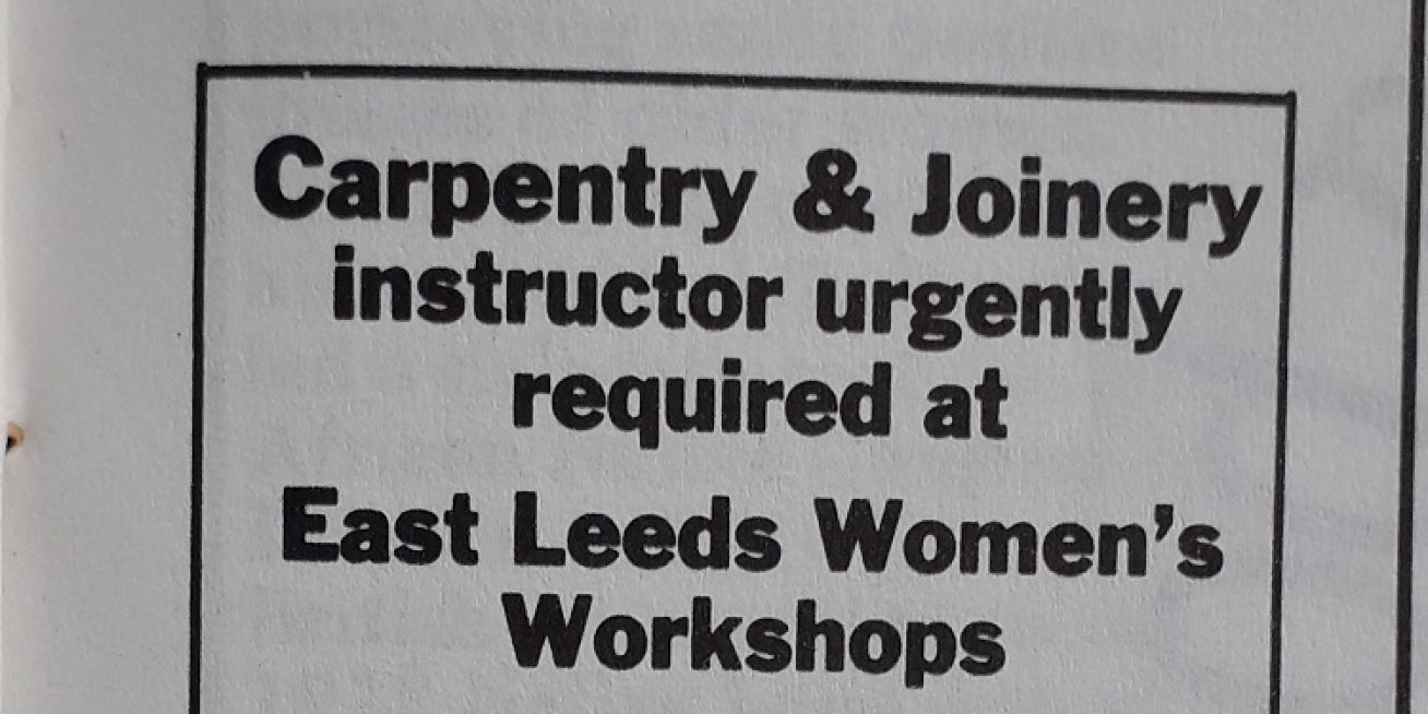 The Women's Workshop in Leeds
